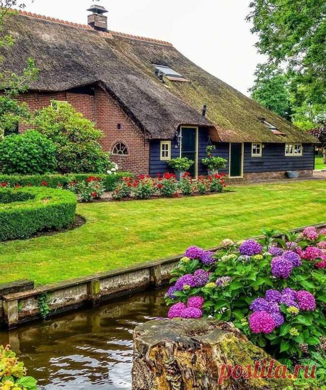 Деревня на воде! Голландия! Волшебно! 💐😍🌺