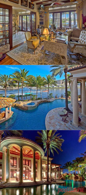 Шикарный особняк во Флориде за $22 000 000   КрасиВО!!!