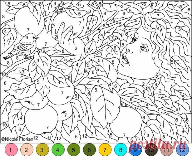 успокаивающие раскраски для детей и взрослых детям