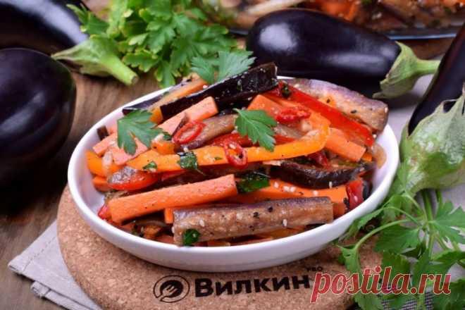 Хе из баклажанов по-корейски (салат-закуска): самый вкусный рецепт с фото