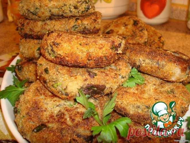 Котлеты из баклажанов Кулинарный рецепт