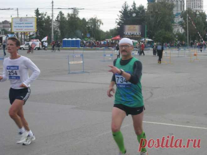 На своем 15-том SIMе и сороковом марафоне