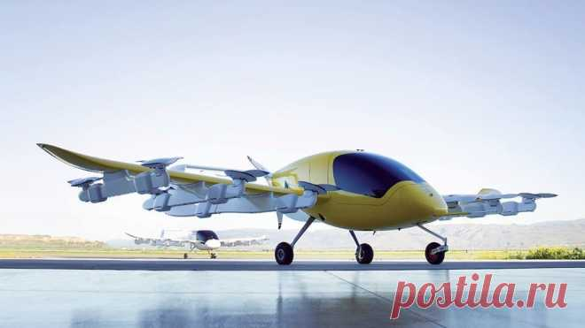 Kitty Hawk Larri Peydzha ha presentado el taxi no tripulado biplaza aéreo