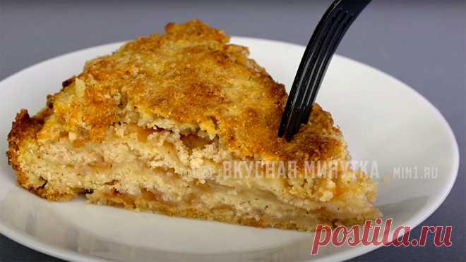 Еще раз убедилась, что чем проще, тем вкуснее: просто насыпаю и запекаю (мой любимый пирог из сухого теста с яблоками)