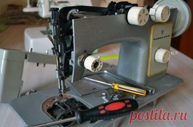 Дефекты в работе швейной машины