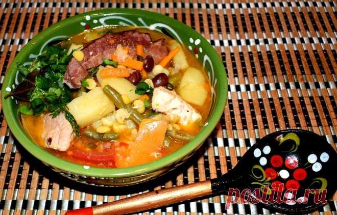 Готовлю по-царски! Любимый густой и сытный немецкий суп