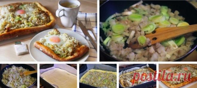 Рыбно-рисовый пирог. Достойное блюдо любого стола