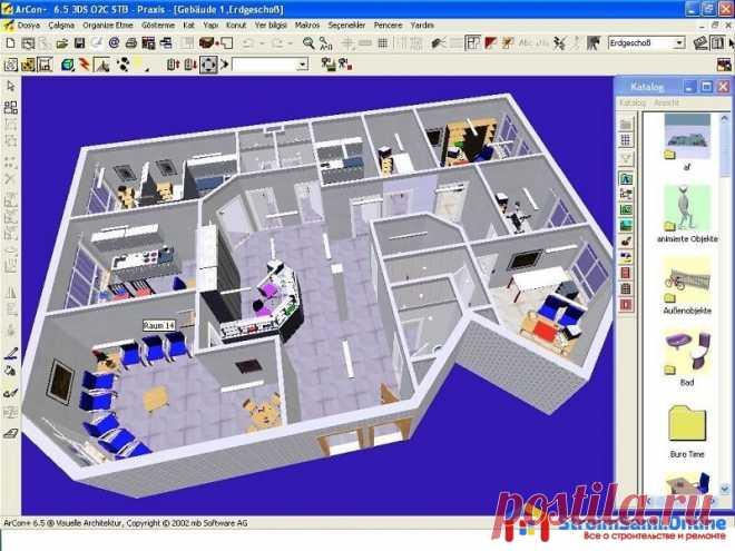 Программы для проектирования домов: ArCon, AutoCad и FloorPlan 3D Для создания индивидуального проекта дома необходимо скачать и установить на свой компьютер необходимую программу. Какой софт лучше для проектирования дома?