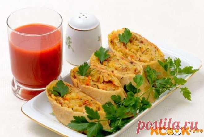 Ханум в духовке - рецепт с пошаговыми фото, как приготовить В этом рецепте мы приготовим вкуснейший ханум, который можно будет смело подавать даже на праздник.
