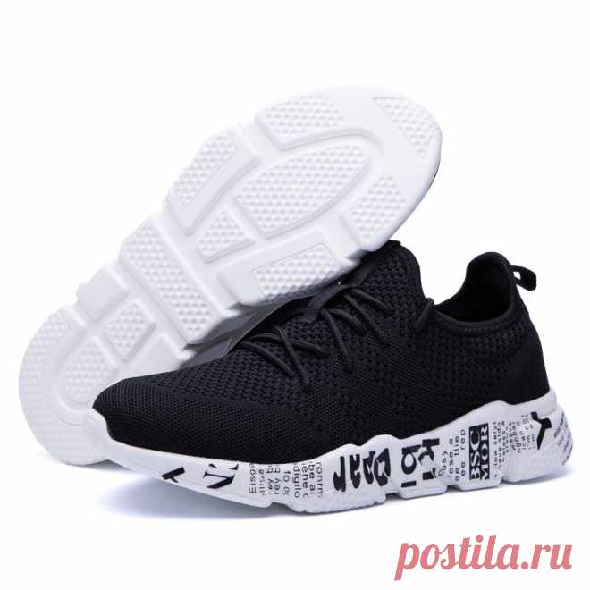 Men's ultralight breathable running shoes soft sport casual sneakers outdoor hiking walking jogging Sale - Banggood.com