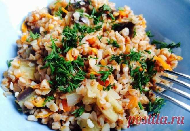 Гречка с овощами / Простые рецепты