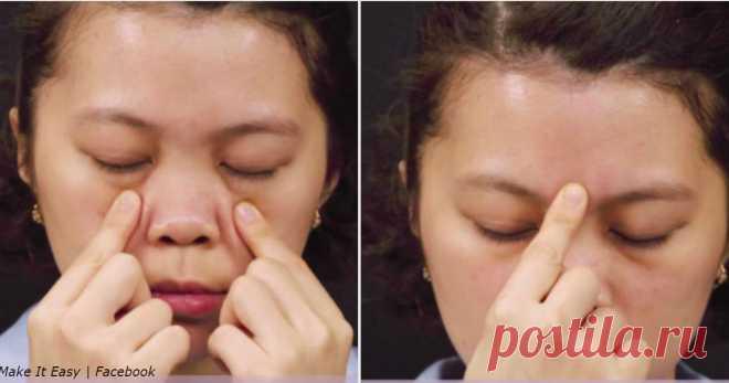 5 точек для избавления от головной боли за 5 минут - Женский журнал - медиаплатформа МирТесен