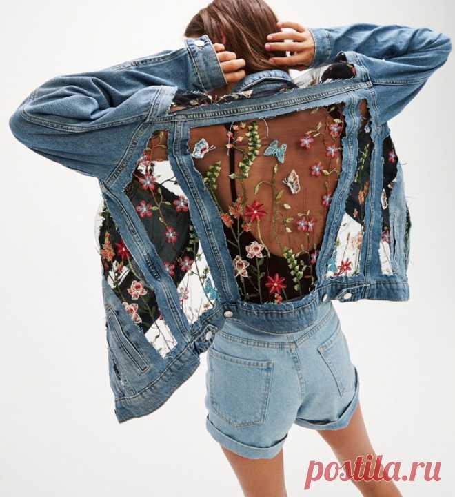 Крейзи - джинсовка Модная одежда и дизайн интерьера своими руками ... 447f17fa9ad75