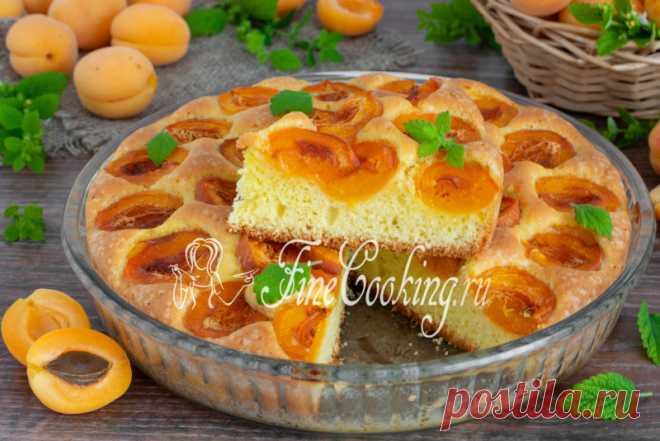 Пирог с абрикосами Готовим ароматный и очень вкусный абрикосовый пирог в духовке.