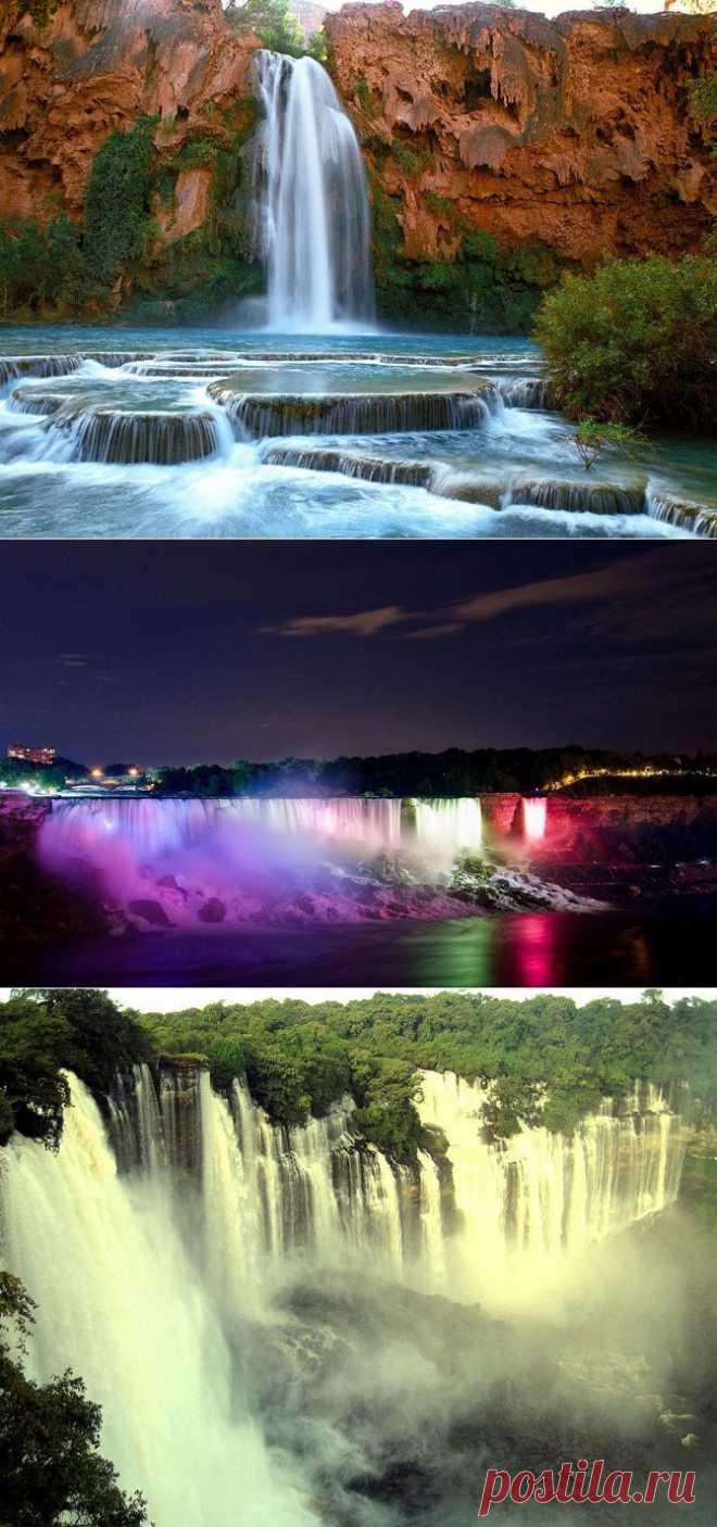 Самые красивые водопады мира | Fresher - Лучшее из Рунета за день