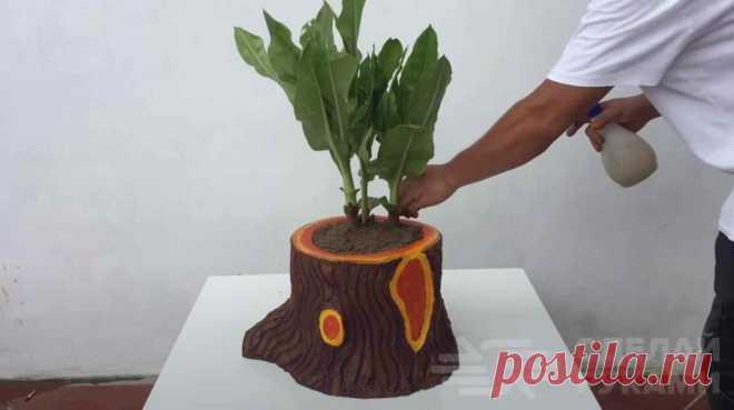 Делаем классный садовый декор из пенопласта - С миру по нитке - медиаплатформа МирТесен