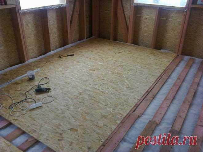 Можно ли укладывать плиты ОСП (OSB) на пол в частном доме или квартире? | Рекомендательная система Пульс Mail.ru