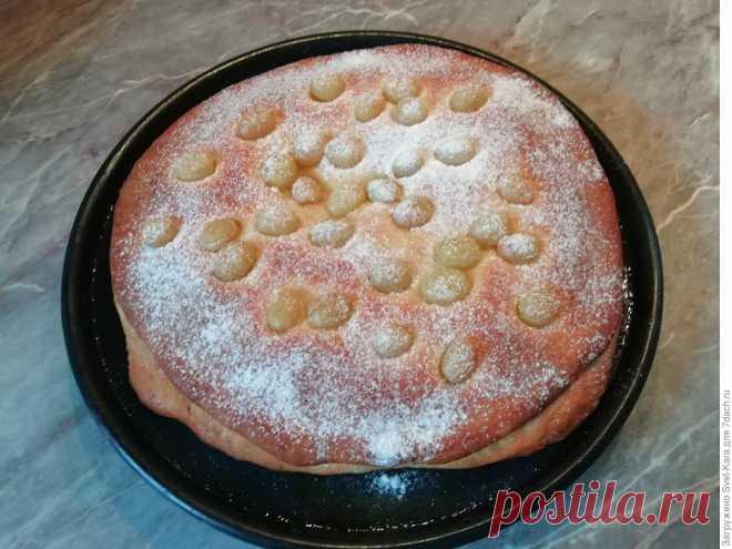 Пирог с виноградом, или Привет из Тосканы от бабушки Ромилды