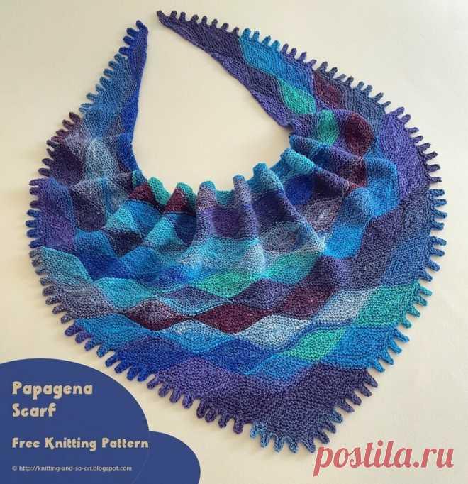Для мастериц, которые вяжут шали, платки спицами — варианты разных моделей