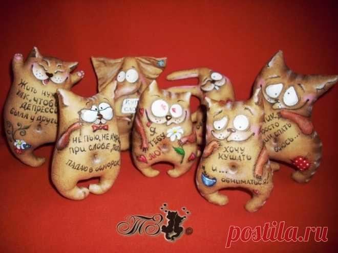 Надпись своими руками кошки