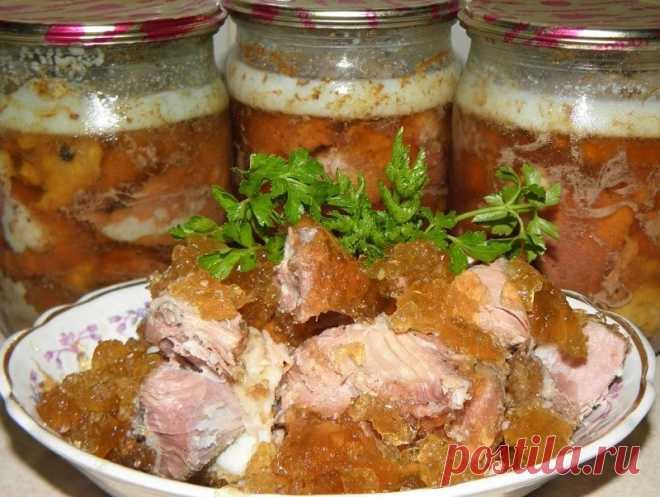 Тушенка в духовке в стеклянной банке   Вкусные и Простые Рецепты