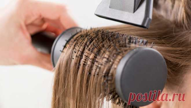 Укладка как из салона: учимся правильно сушить волосы феном. Видео