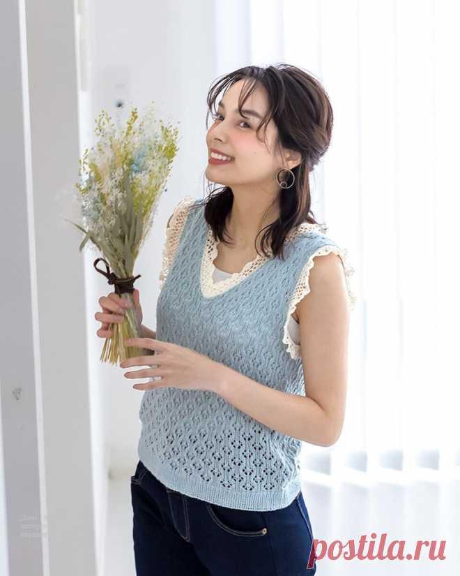 Женские модели спицами и крючком со схемами   Красивое и интересное вязание   Яндекс Дзен