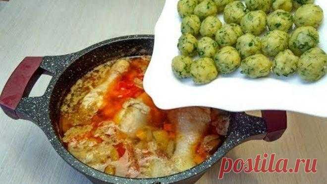 Супчик с сырными шариками - я просто влюблена в этот рецепт. Быстрый и невероятно вкусный суп без возни! - WOMENCLYB