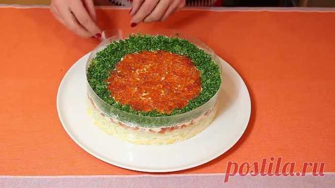 Новогодний салат 'Императрица'