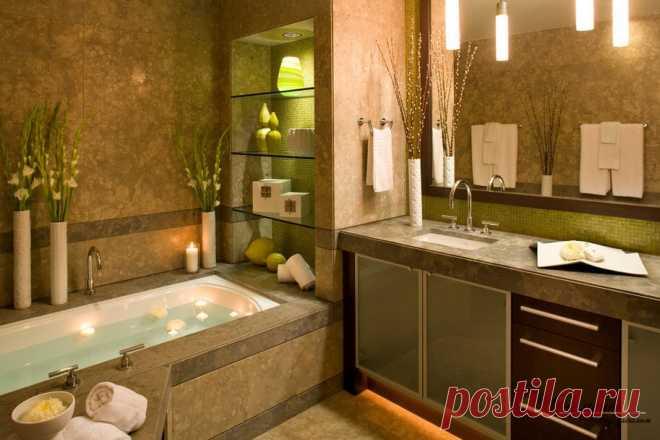 Полки в ванной или как рационально использовать всю площадь комнаты