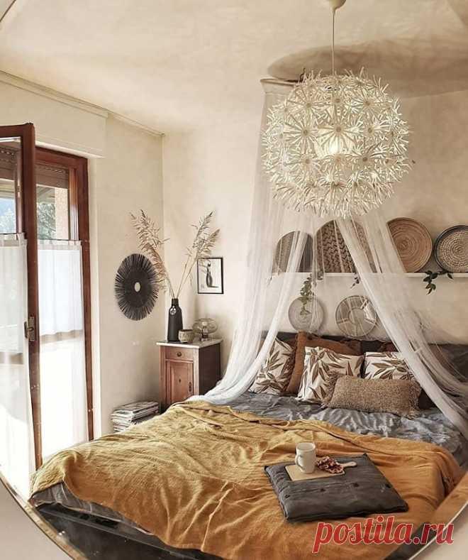 Красивая идея для оформления спальни   Хотите поделиться своими результатами ремонта? Присоединяйтесь к нашему проекту!