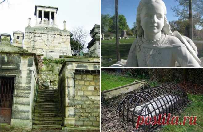 10 по-настоящему жутких могил и их истории, от которых стынет кровь . Чёрт побери