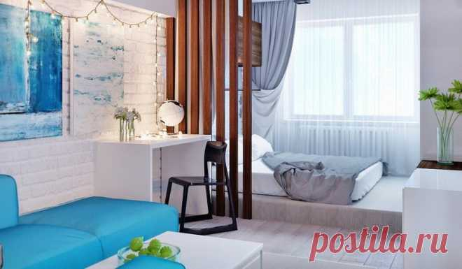 Studio apartment of 30 sq.m - Interior design | Ideas of your house | Lodgers