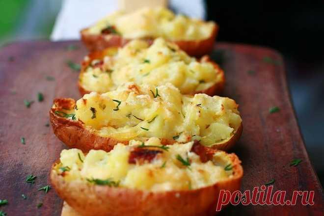 Картофель, запеченный в мундире — Sloosh – кулинарные рецепты