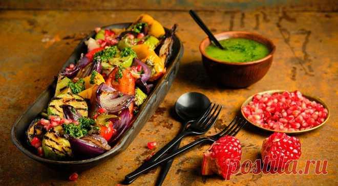 Овощи на барбекю - Образованная Сова