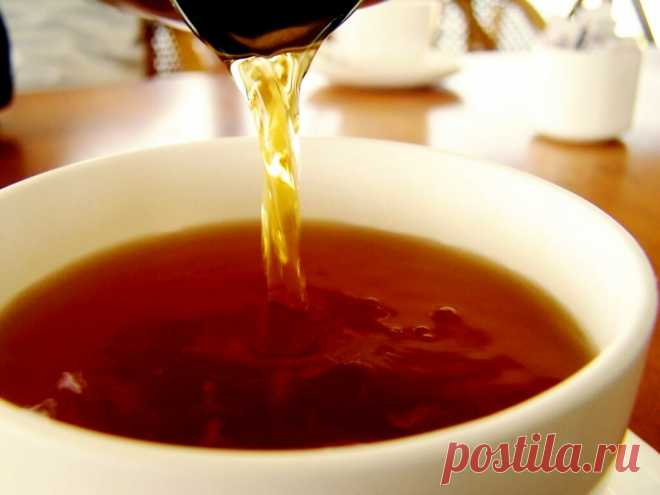 Кофеин в черном чае