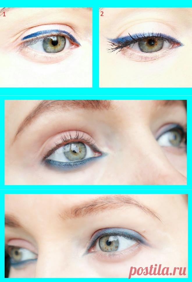 Не понимаю, почему женщины 50+ так подводят глаза: варианты, которые портят вид глаз | О макияже СмиКорина | Яндекс Дзен