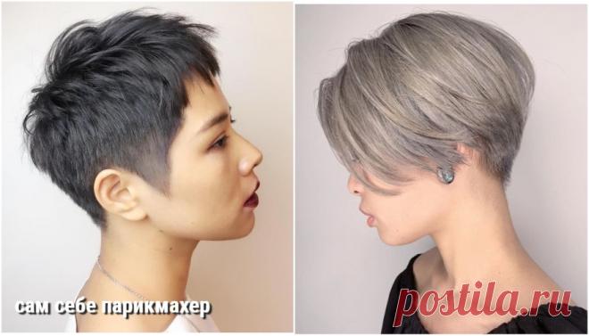 Короче: 15 пикси в корейском стиле | Сам Себе Парикмахер | Яндекс Дзен