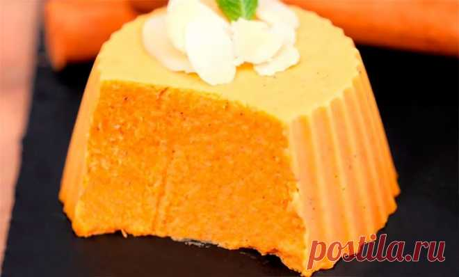 Рецепт нежнейшего десерта из тыквы и специй со сливочным вкусом. Такого вы точно еще не пробовали!