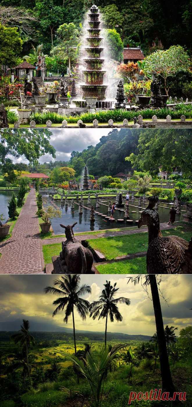 Лучшие сайты - Бали. Водный дворец Тиртаганга