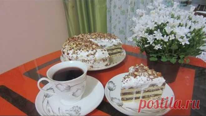 Песочный торт Лакомка