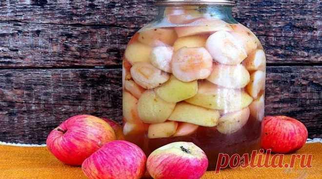 Компот из яблок на зиму на 3 литровую банку — 7 простых рецептов Летом мы наслаждаемся дарами природы в полной мере. Фрукты, овощи, ягоды – все это в изобилии и прямо с грядки.