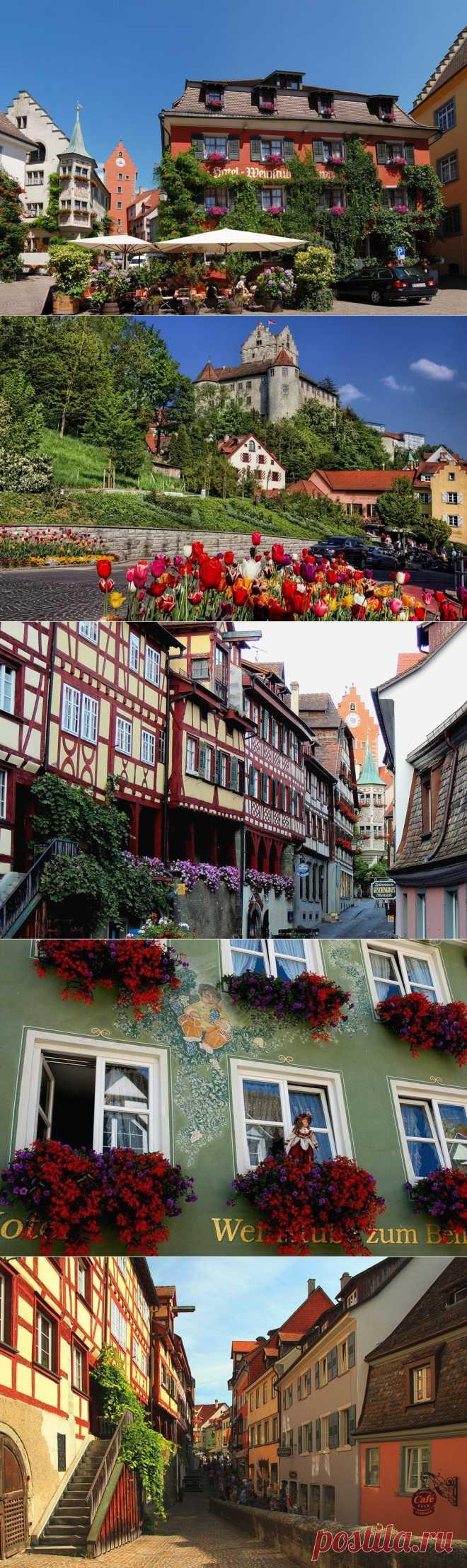 Живописный Меерсбург. Германия.