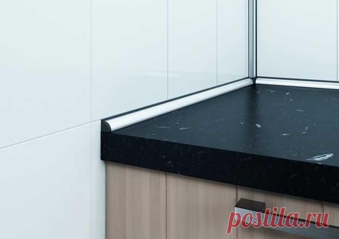 🔨 Плинтус для столешницы на кухне: виды и функции