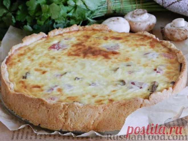 Открытый пирог или киш, только лучшие рецепты!
