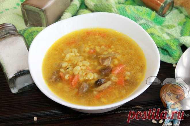 Постный грибной суп с перловкой - вкусно, как в детстве - Пошаговые фото рецепты без дрожжей, без муки, без мяса, без масла, без яиц Постный грибной суп с перловкой. В нем все ароматы леса и бабушкина забота. Насыщенный грибной бульон в союзе с жареными морковью и луком придает невероятный цвет блюду.