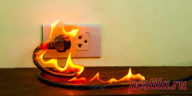 Что делать, если загорелась розетка?   Кабель.Онлайн   Яндекс Дзен