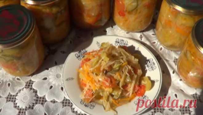 Простой рецепт консервированного салата
