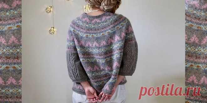 Свободный пуловер Astrid от Junko Окамото