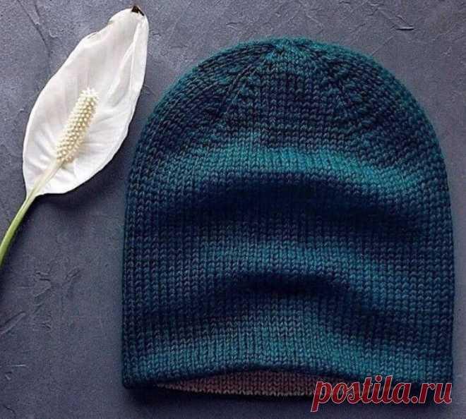 Как связать двойную шапку бини для мужчин: описание, фото, видео мастер-класс